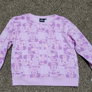 Minnie 14/16 XL Mouse Sweatshirt Girls New Disney